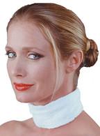 Betty Dain White Terrycloth Neck Strips - 12 ct