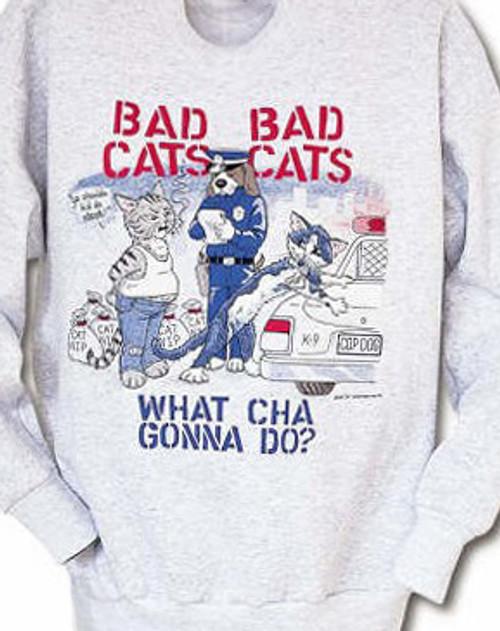 Hilarious feline parody of the popular TV show COPS