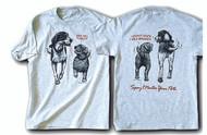 FIXED DOGS T-SHIRT ASH