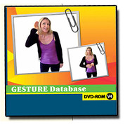 Gesture Database DVD-ROM V.4