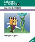 Manigan le geant - Blackline Master