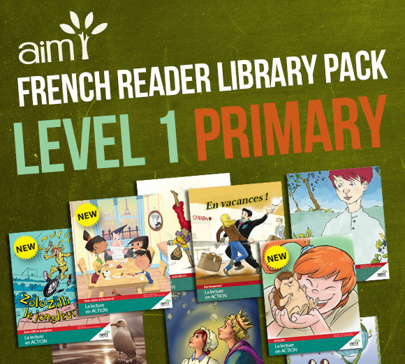 French Reader Library Pack, Level 1, 'Rudimentary proficiency'
