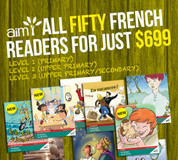 French Reader Library Mega-Pack (all levels - 50x readers!)