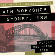 Sydney  AIM Workshop (March 2nd 2020)