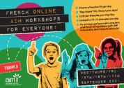 Online French AIM Workshops (September 15/16/17 2021)