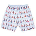 JoJo Maman Bébé Boys Swim Shorts with Nappy