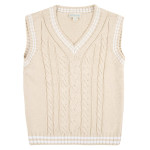 JoJo Maman Bébé Cable Knit Tank Tops