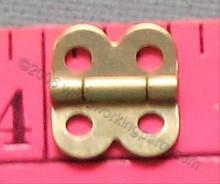 Brass Plated Mini Hinge