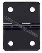 Black 3/4x1 inch hinge