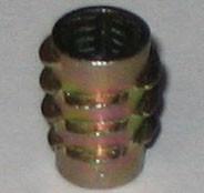 1/4-20 x 20mm Length DIE CAST ZINC ALLOY HEXDRIVE THREAD INSERT