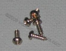 #2 Phillips Nickel Round Head Screw