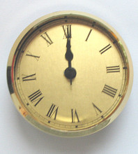 2-3/4 insert Roman gold Face
