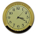 2 Inch (50mm) Ivory Arabic Clock Insert/Fit Up