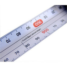 True Metric ReverseMeasuring Tape 5M tape design