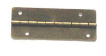 2 x 3/4 Antique Brass Hinge