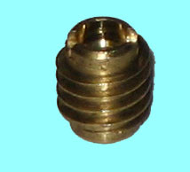 4-40 Brass Threaded Insert