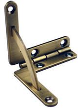 Quadrant Antique Brass Hinges Solid Brass