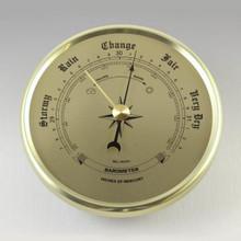 gold 2-3/4 barometer