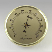 Gold Hygrometer Insert/Fit Up