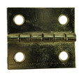 1-1/2 x 1-3/8 Brass Plated Butt Hinge