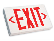 Exit Sign - NO Battery Back-up - AC ONLY  -  TCP #22742