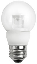 "4 Watt LED 2"" Globe Clear - Medium Base  (25w Equal)"