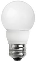 "4 Watt LED 2"" Globe Frost - Medium Base  (25w Equal)"