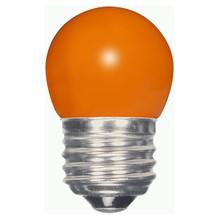 1.2 WATT S11 LED LAMP ORANGE 27K (EQUAL TO 10W) - SATCO #S9164