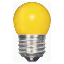 1.2 WATT S11 LED LAMP YELLOW 27K (EQUAL TO 10W) - SATCO #S9166
