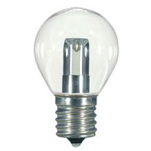 1.2 WATT S11 LED LAMP CLEAR 27K INTERMEDIATE BASE (EQUAL TO 10W) - SATCO #S9167
