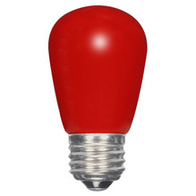 1.4 WATT S14 LED LAMP RED 27K (EQUAL TO 11W) - SATCO #S9170