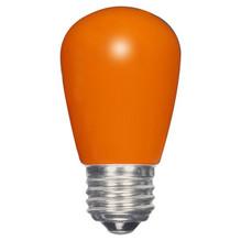 1.4 WATT S14 LED LAMP ORANGE 27K (EQUAL TO 11W) - SATCO #S9173