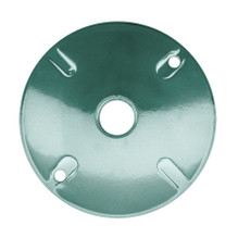 RAB Lighting Round Electrical Box Cover - Verde Green
