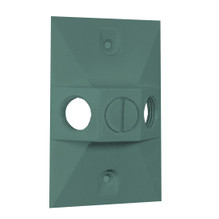 RAB Lighting Rectangular Electrical Box Cover