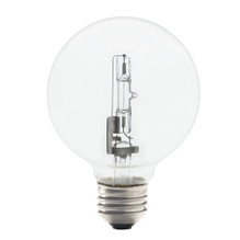 43G25CL/ECO 43 Watt Clear G25 EcoHalogen
