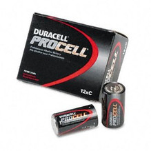 12 PACK - DURACELL PROCELL C CELL BATTERY