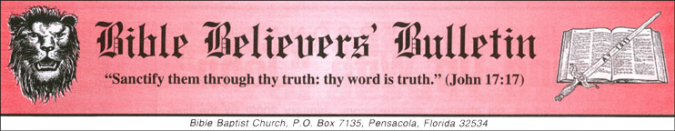Bible Believers' Bulletin