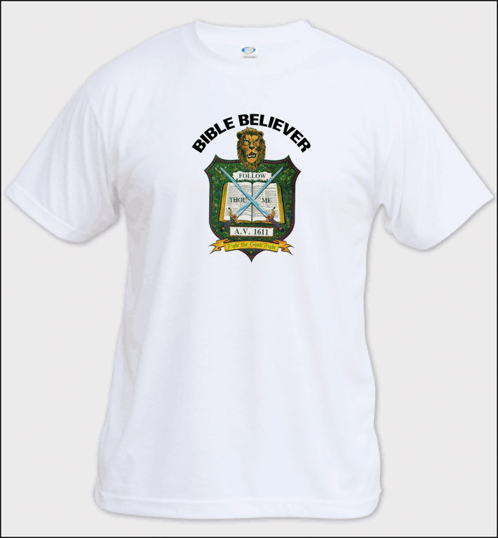 bd6f45fbf73 Bible Believer - Adult T-Shirt (other colors available) - Bible ...