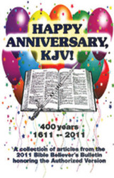 Happy Anniversary, KJV!