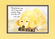 KJV Scripture Blank Greeting Cards - Abbey