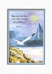 KJV Scripture Encouragement Card - Misty Moon