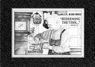 KJV Scripture Encouragement Card - Clock Repair Man