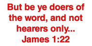 But Be Ye Doers Of The Word - Magnet