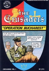 The Crusaders - Operation: Bucharest - Comic Book
