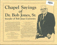 Chapel Sayings Posters