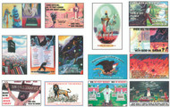 Complete Set of All 14 Postcards by Dr. Ruckman