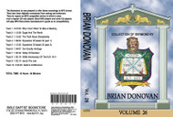 Brian Donovan Sermons on MP3 - Volume 26