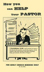 How You Can Help Your Pastor