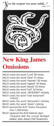 New King James Bible Omissions - Tract
