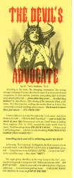 The Devil's Advocate - Tract